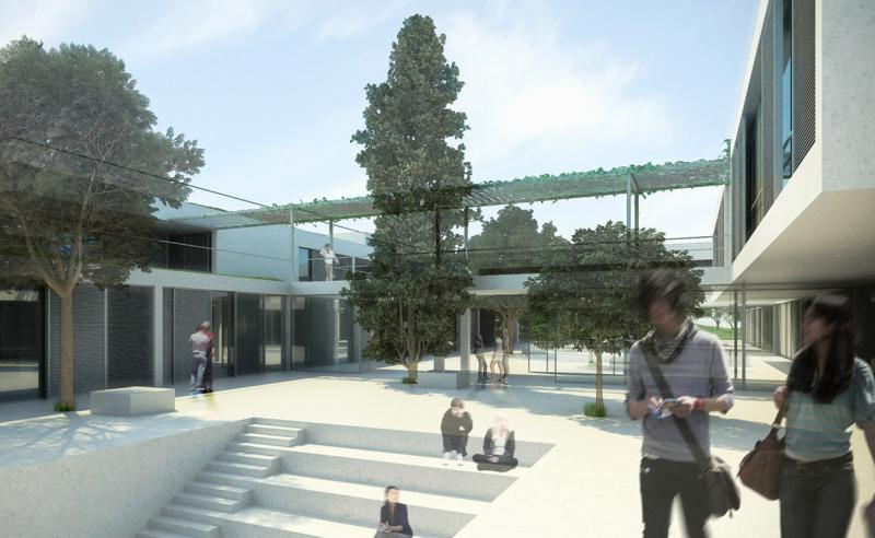 INNOVATIVE BIOCLIMATIC EUROPEAN SCHOOL COMPLEX